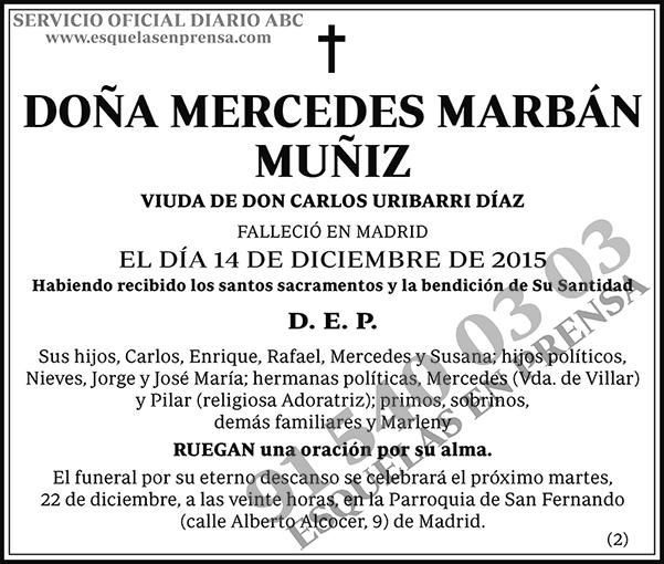 Mercedes Marbán Muñiz
